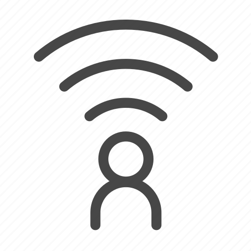hotspot, personal, share, sharing, wifi icon