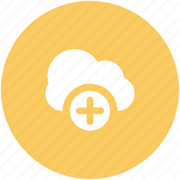 add to cloud, cloud computing, cloud storage, cloud technology, icloud, wireless communication, wireless network icon