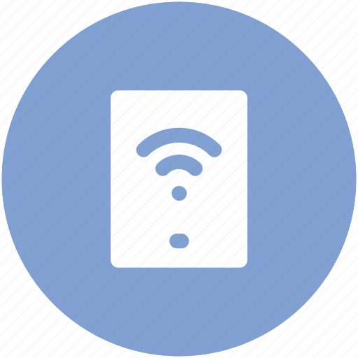 connectivity concept, internet coverage, mobility, phone screen, telecom, wifi zone, wireless signals icon