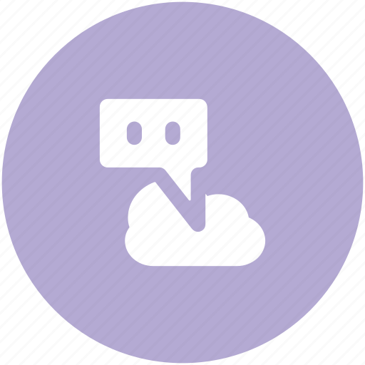 babble, chat sign, chitchat, cloud network, global communication, wireless communication, wireless connection icon
