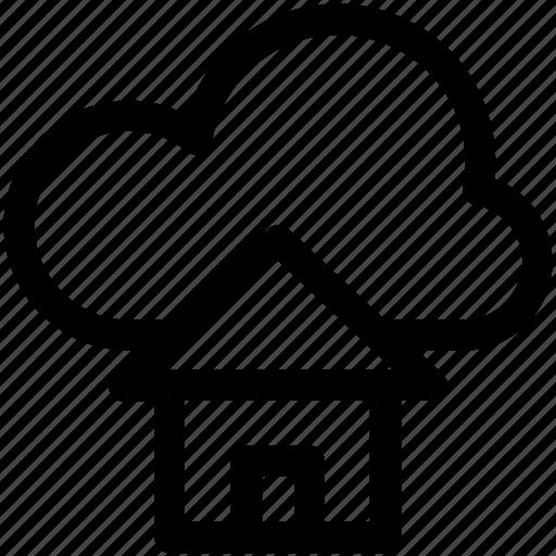 cloud computing, home, home page, icloud, ui icon