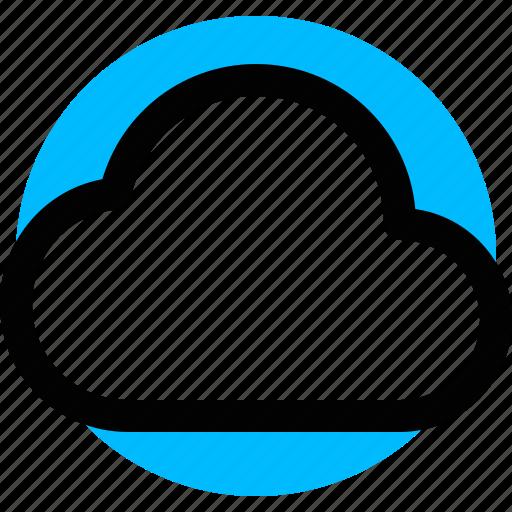 cloud, cloud service, computing, data icon