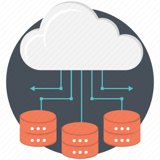 cloud network, database, network, networking, server icon