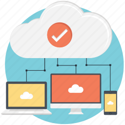 cloud networking, networking icon