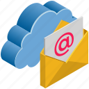 cloud, computing, email, mail, message