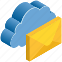 cloud, computing, email, letter, mail, message