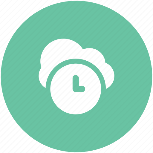 broadband, clock sign, cloud hosting, cloud network, fast hosting, information technology, network services icon