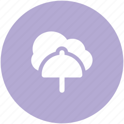 cloud computing, cloud network, network protection, network security, network service, umbrella sign, wireless network icon