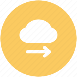 arrow direction, arrow pointing, cloud network, cloud technology, forward arrow, wireless network, wireless technology icon