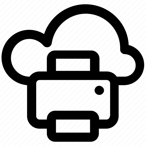.svg, cloud and fax, cloud and printer, cloud computing, cloud computing communications, cloud computing documentation, cloud computing fax icon - Download on Iconfinder