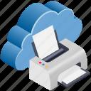 cloud, computing, fax, print, printer, sync