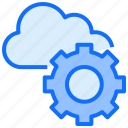 cloud, computing, setting, configuration, preference, gear