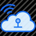 cloud, computing, wifi, signals, internet