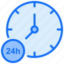clock, time, customer, 24hours, service