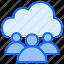 cloud, computing, team, group, users