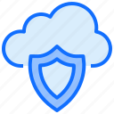 cloud, computing, protection, shield, security