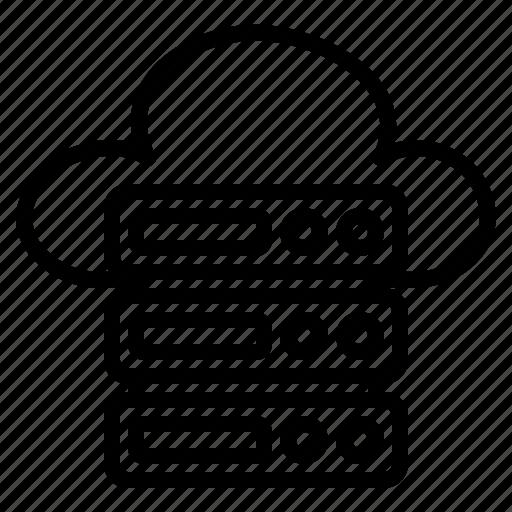 Cloud, server, storage, database, network, file, document icon - Download on Iconfinder