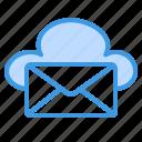 email, mail, message, letter, envelope, send, cloud
