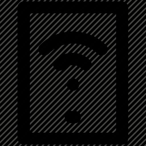 connectivity concept, internet coverage, mobility, phone screen, telecom, wifi zone, wireless signals icon