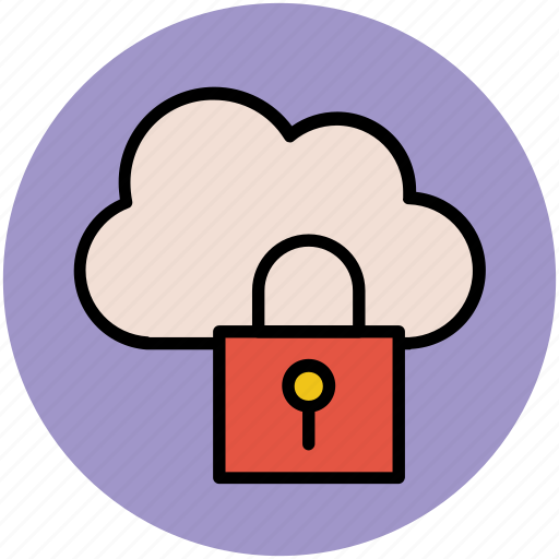 cloud computing, cloud identity, code symbol, lock sign, network password, padlock sign, privacy code, security concept, verification concept icon