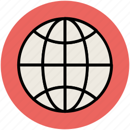 cyberspace, global coverage, global marketing, globe, international connection, map, world map icon