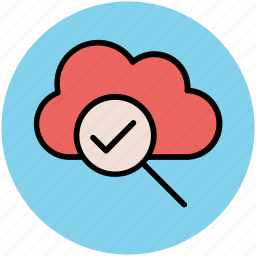 cloud magnifying, cloud search, exploration, internet exploring, online search, research, search concept icon