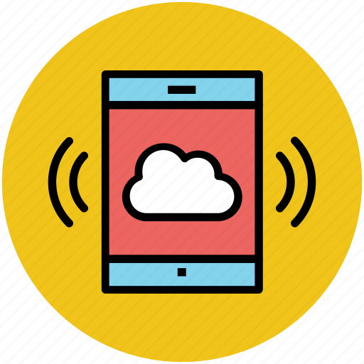 cloud network, communication concept, mobile internet, mobility, modern technology, wireless communication, wireless network icon