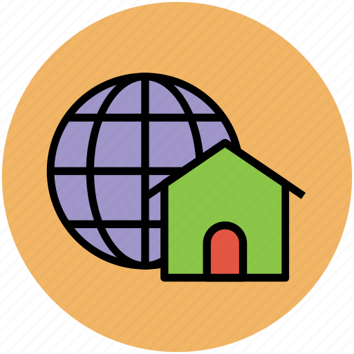 global access, global concept, global network, globe, home, technology, world icon