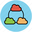 cloud internet, cloud internet connectivity, cloud network, connected clouds, iclouds, internet connection, internet connectivity icon