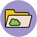 cloud computing, cloud data, computer network, data accessibility, information medium, network server, wireless technology icon