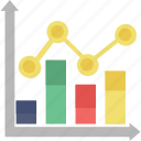 bar graph, chart, graph, infographic, statistics icon