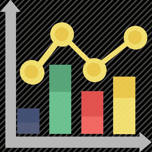 bar graph, chart, graph, infographic, statistics icon