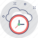 backup, clock, cloud, cloud computing, history icon