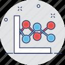 analytics, graph, line chart, line graph, statistics icon