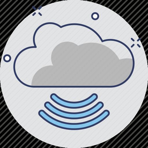 cloud, network, wifi cloud, wireless icon
