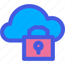 cloud, lock, privacy, safety, security