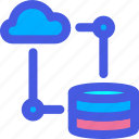 cloud, database, sync