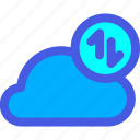 cloud, sync, synchronization icon