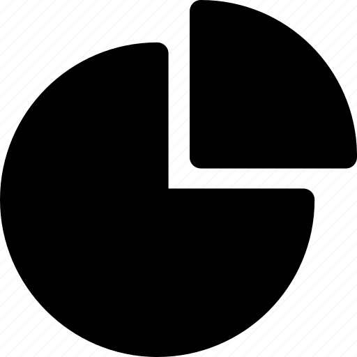 analytics, graph, pie chart, pie graph, statistics icon
