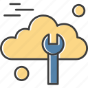 cloud, computing, screwdriver, toolings