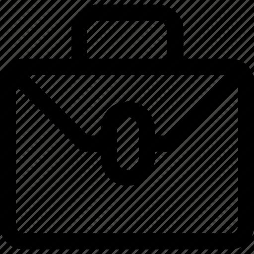 bag, briefcase, documents, office, portfolio icon
