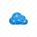 cloud, cloud computing, computing, data, network icon