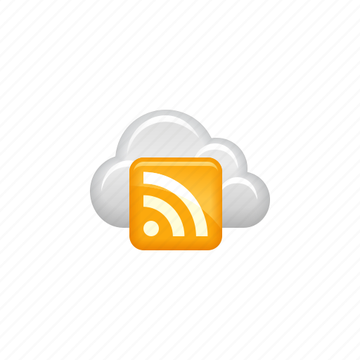 Cloud, cloud computing, computing, data, news, rss, rss feed icon - Download on Iconfinder