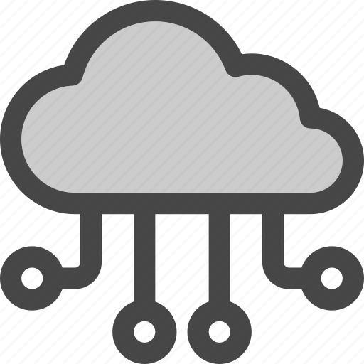 Cloud, computing, connections, flow, internet, storage icon - Download on Iconfinder