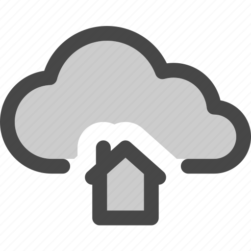 cloud, computing, home, homepage, internet, storage icon