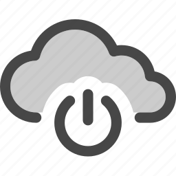 available, cloud, computing, data, internet, on, storage icon