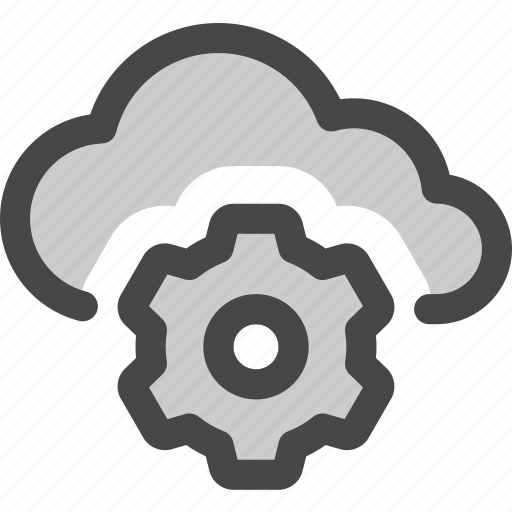 Adjustments, cloud, computing, gear, settings, storage icon - Download on Iconfinder