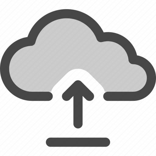 cloud, computing, file, internet, storage, upload icon