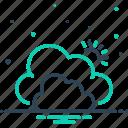 cloud, fog, fogginess, smog, steam, vapor, weather icon