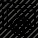 fie, folder, globe, storage icon